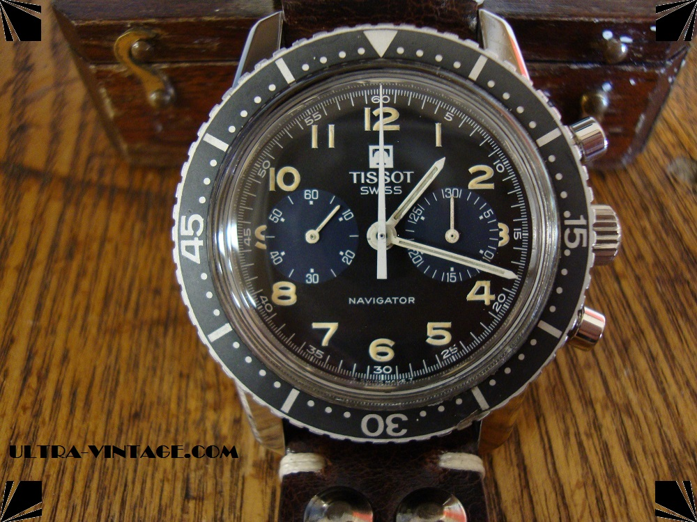 Tissot / Lemania SAAF Chronograph