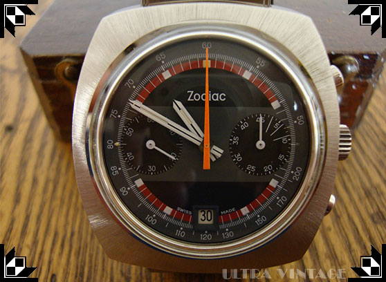 Zodiac 2-Register Rally Chronograph