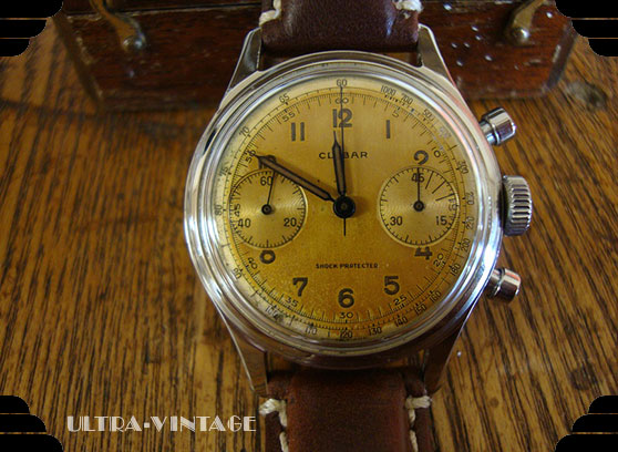 Clebar Chronograph with Venus 175