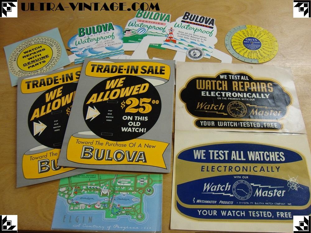 Vintage Watch Materials