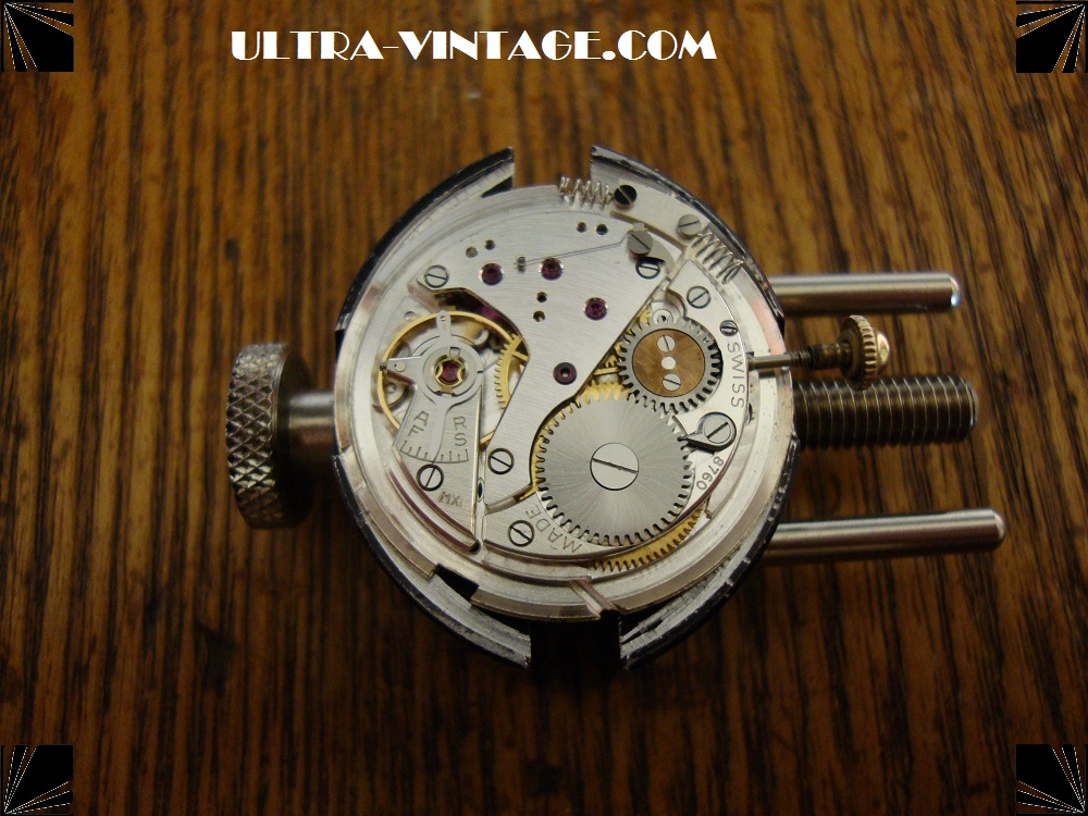 Movado Caliber 115 without Automatic assembly