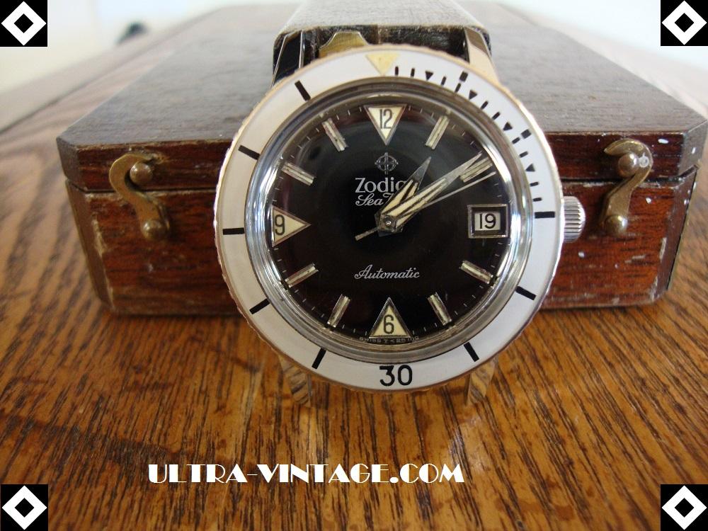 1960's Zodiac Super Seawolf 70-72 Mvmt