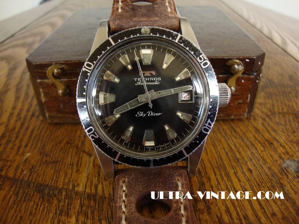 Technos Sky Diver 1960's