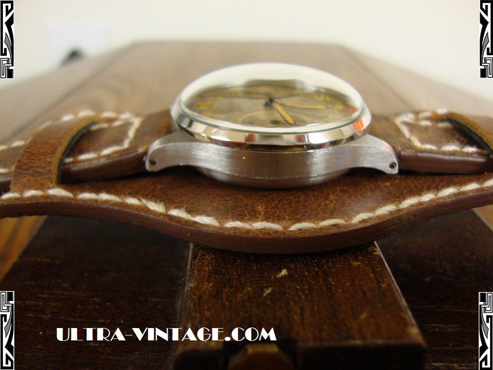 1940's Bulova Chronograph - Side