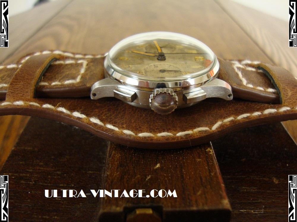 1940's Bulova Chronograph - Crown & Pushers