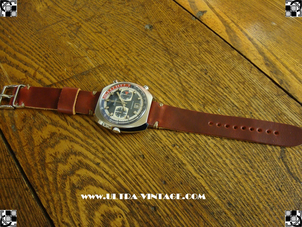 Zodiac 1970's Chronograph Caliber 12 After A