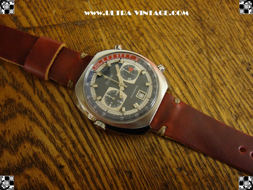 Zodiac 1970's Chronograph Caliber 12 After B