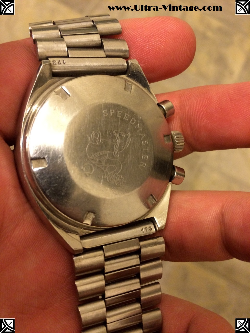 Omega Speedmaster Case Back Before 3